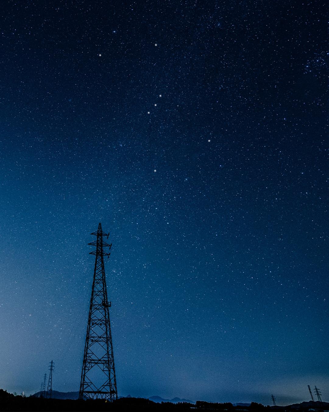 ベランダで天体観測